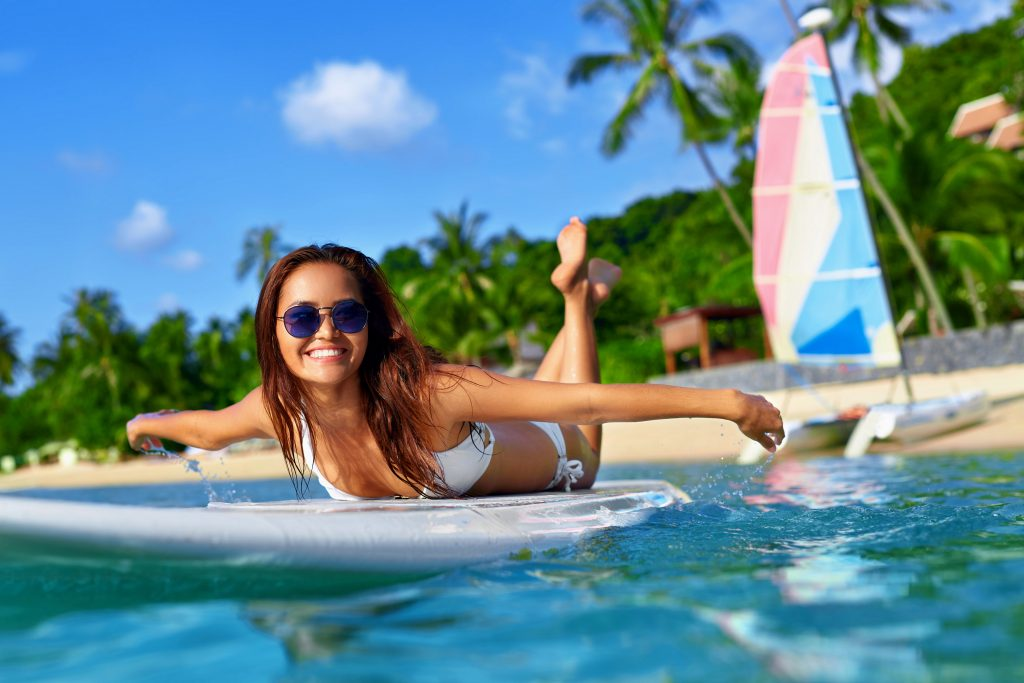 Image of how easy paddle boarding can be