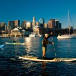 Boston paddle boarding (SUP)
