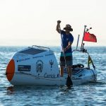 Record-Setting SUP Atlantic Crossing Reaches Halfway Point