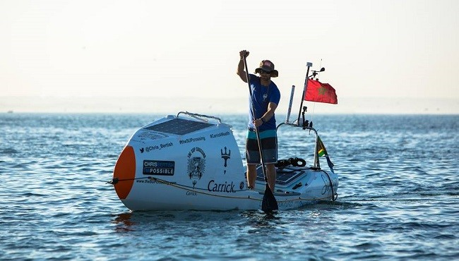 Record-Setting SUP Atlantic Crossing Reaches Halfway Point 1
