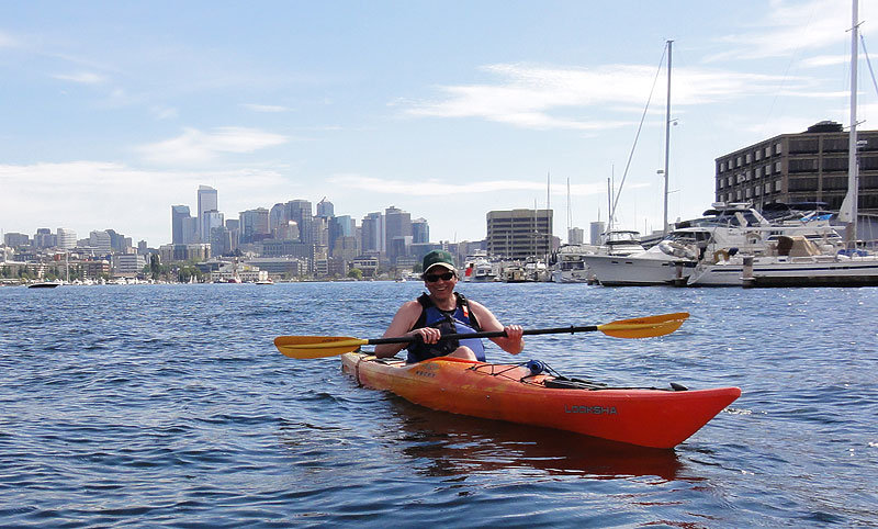 Seattle is one of teh best places to paddle board