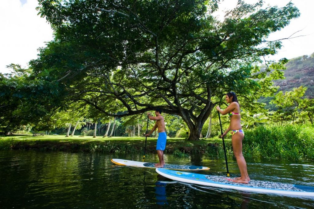 SUP in Hawaii