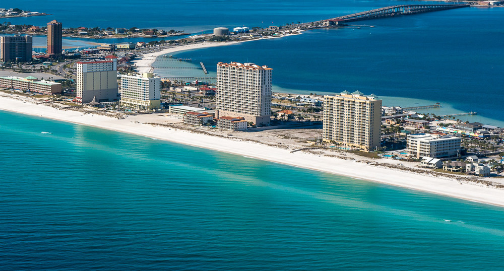 Pensacola Beach paddle boarding (FL)