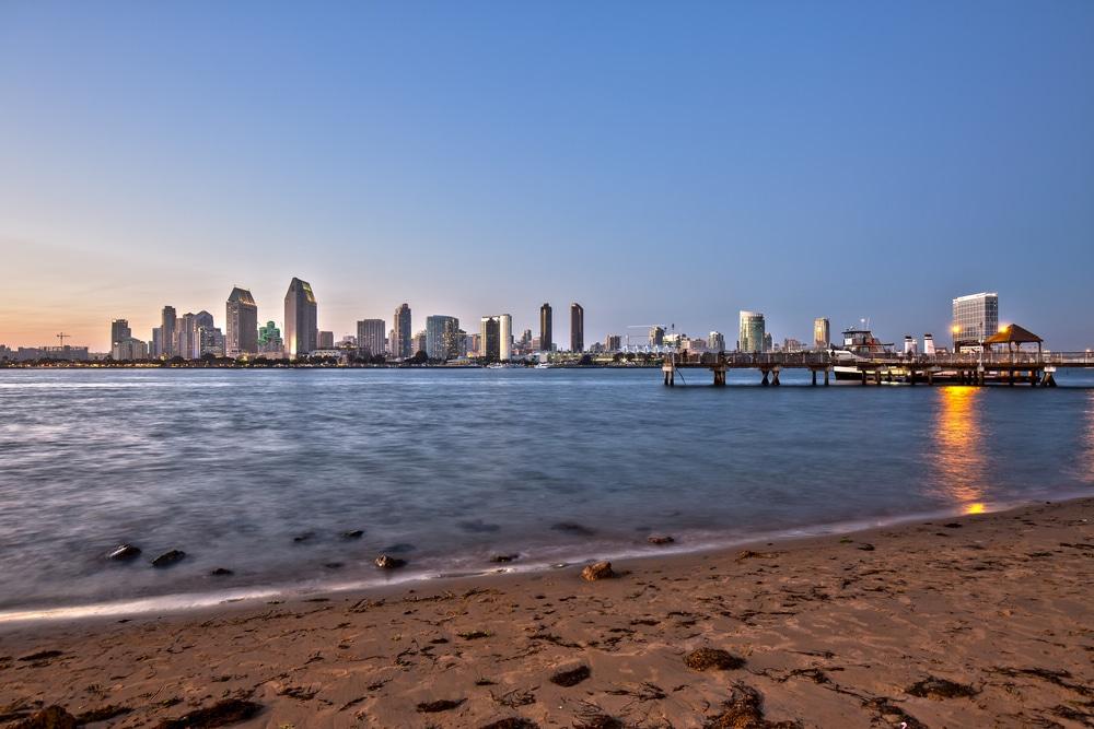 Isle SUP San Diego beach Clean UP 1
